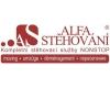 Stěhování bytu, stěhovací služby, Alfa Stěhování s.r.o.