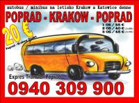 Expres Transfer Poprad preprava osôb 8+1 minibus