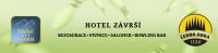 Hotel Závrší - restaurant-pivnice-salonek-bowling bar