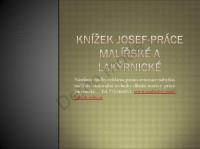 Malířství Josef Knížek