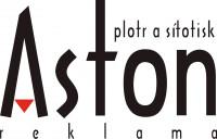 Aston - plotr a sítotisk