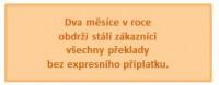 Anglické tlumočení a překlady Mgr. Hana Veverková