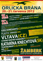 Festival Orlická brána 2012 - hudba, divadla, kino, doprovodný program