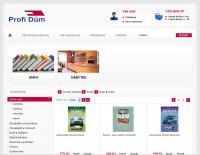 Profi Dům - internetový obchod s knihami a nábytkem.