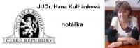 Notářka – JUDr. Hana Kulhánková