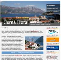 Černá Hora – turistické destinace, letenky a ubytování