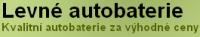 Levné autobaterie