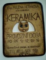 Keramika Kočka - Mgr. Milena Heráková
