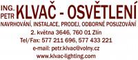 Ing. Petr Klvač - osvětlení