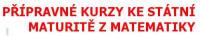 Přípravné kurzy ke státní maturitě z matematiky – RNDr. Zdeněk VAVŘÍN