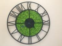 Machové hodiny dizajn Rím 50 cm