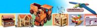 Rodina Dolejších - Dřevěné hračky