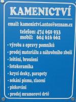 KAMENICTVÍ - Stanislav Antoš