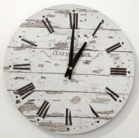 Vintage nástenné hodiny Becker, priemer 30 cm