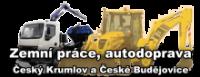 Kontejnerová autodoprava, zemní práce Český Krumlov a České Budějovice