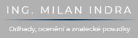 Ing. Milan Indra – Odhady, ocenění a znalecké posudky